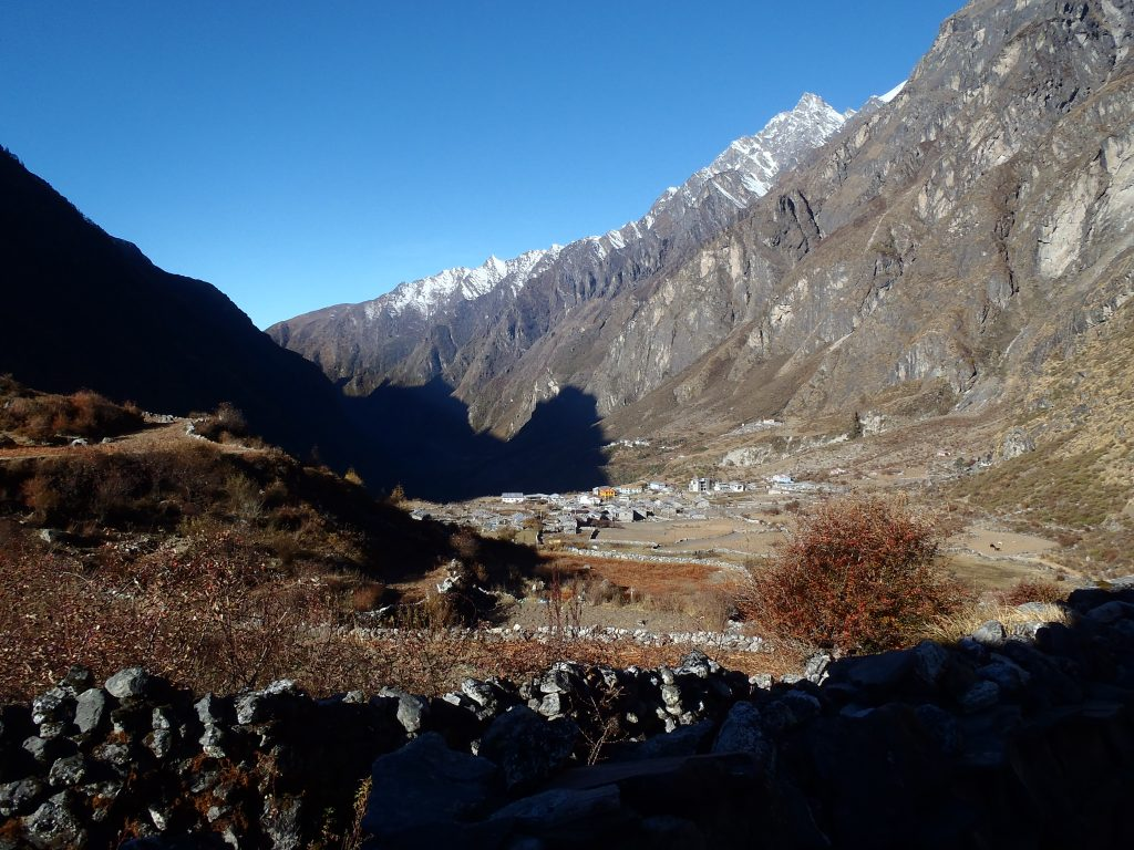 Langtang Village pre 2015